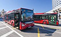 Автобус ОАО BakuBus, фото из архива