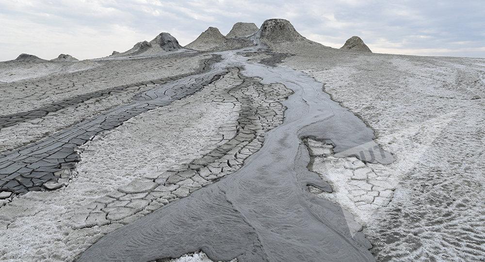 Qobustandakı palçıq vulkanı