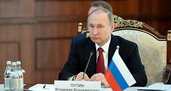 Президент РФ Владимир Путин на ВЕЭС