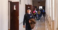 Ученики одной из средних школ Баку, фото из архива