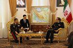 Министр обороны Азербайджана встретился с секретарем Высшего Совета Национальной Безопасности Ирана
