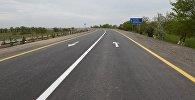 Участок дороги после реконструкции, фото из архива