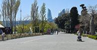 Приморский парк в Баку, фото из архива