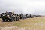 В соответствии с планом проведения учений, войска выполняют боевые задачи