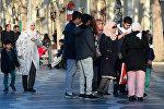 Арабские туристы в Баку, фото из архива