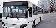 Автобус, попавший в ДТП, фото из архива