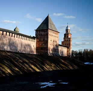 Новгородский кремль, фото из архива