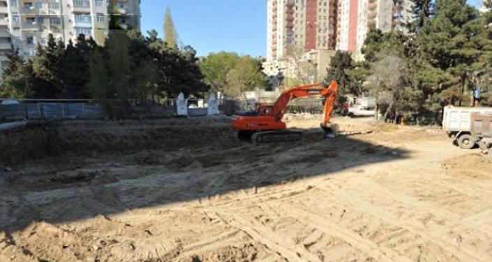 Текущая ситуация на территории Парка шехидов в Хатаинском районе Баку