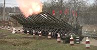 Салютный дивизион готовится ко Дню Победы
