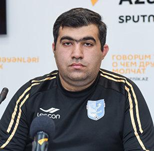 Вице-президент ФК Шахдаг Рустам Азимов