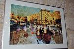 Выставка литвийского художника Гиедриуса Йокубаускиса в Баку