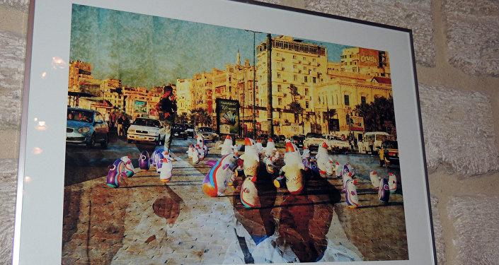 Выставка литовского художника Гиедриуса Йокубаускиса в Баку