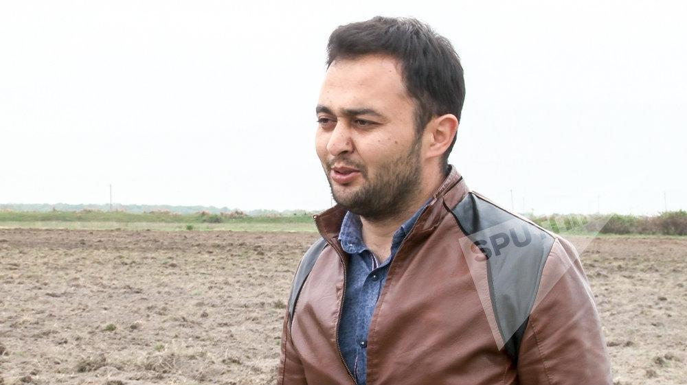 Фермер Кямран Рагимов