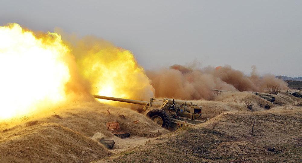 В ходе широкомасштабных учений проведен этап боевой стрельбы