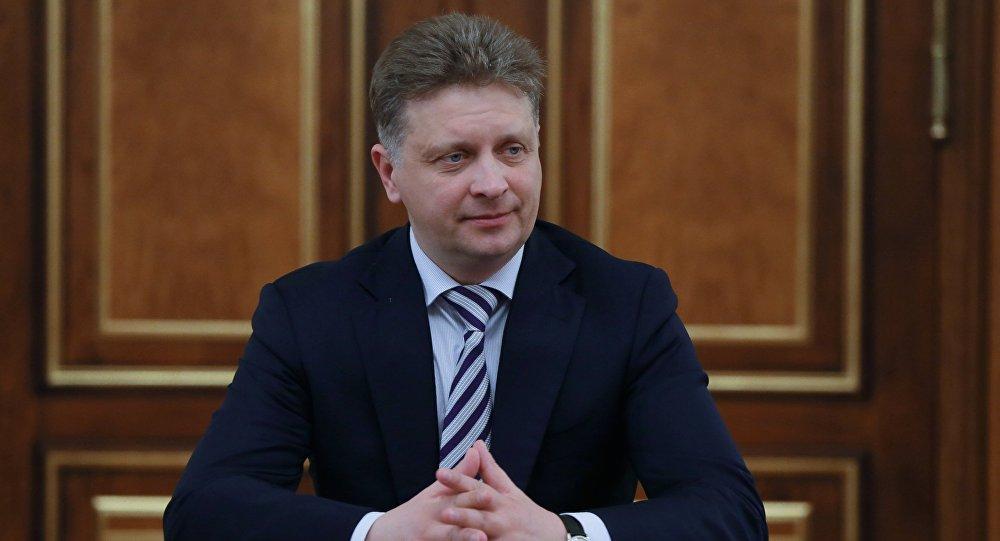 Rusiyanın nəqliyyat naziri Maksim Sokolov