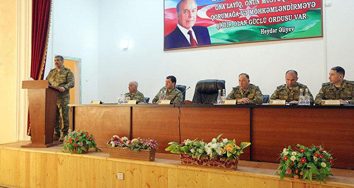 В прифронтовой зоне проведено расширенное заседание коллегии Министерства обороны