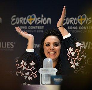Джамала (Украина), победившая в финале международного конкурса Евровидение-2016