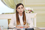 Первый вице-президент Азербайджана Мехрибан Алиева на заключительном заседании Оргкомитета IV Игр исламской солидарности