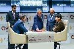 Встреча Шахрияра Мамедъярова с Уэсли Со в рамках Shamkir Chess 2017
