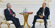 Президент Азербайджана Ильхам Алиев принял экс-президента Австрии Хайнца Фишера