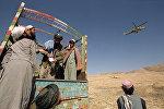 Taliban üzvləri, arxiv şəkli