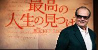 Джек Николсон — американский актёр, кинорежиссёр, сценарист и продюсер, фото из архива