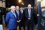 Церемония открытия музея и фаншопа футбольного клуба Нефтчи
