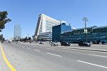Проспект Гейдара Алиева в Баку
