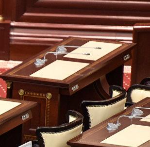 Рабочее место депутата парламента Азербайджана