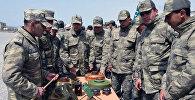 Проведена демонстрация вооружения, военной и специальной техники, которые будут применены на азербайджано-турецких совместных учениях