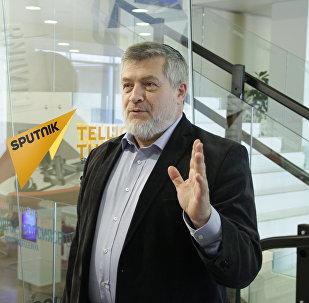 Израильский   публицист  и общественный  деятел  Авигдор  Эскин