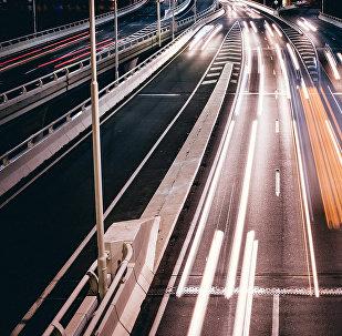 Скоростная трасса, фото из архива