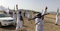 Последователи течения Талибана Mahaaz- e- Dadullah