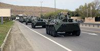 В Азербайджан доставлена очередная партия боеприпасов и новейшей военной техники производства РФ