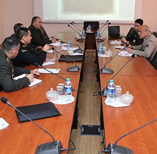 Рабочая встреча между военными специалистами Азербайджана и Франции по кибербезопасности