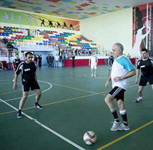 ShamkirChess 2017 turnirinin iştirakçıları və təşkilatçılar arasında futbol turniri keçirilib