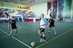 Футбольный турнир команд, составленных из участников Мемориала Вугара Гашимова