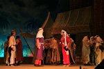 Спектакль Лейли и Меджнун Узеира Гаджибейли, фото из архива