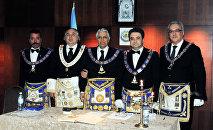 Ассамблея Великой Ложи Азербайджана, Баку, 29 июня 2012 года, Андрей Богданов — второй справа