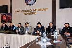 Пресс-конференция съемочной группы фильма Ибад специального назначения-2