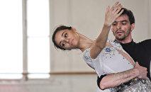 Балерина Нигяр Ибрагимова, фото из архива