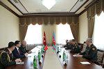Обсуждены перспективы военного сотрудничества между Азербайджаном и Турцией