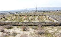 Монумент в честь 26 бакинских комиссаров в поселке Говсан в Баку