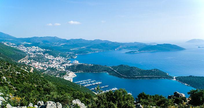 Antalyada kurort, arxiv şəkli