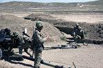 Hərbi məktəbin kursantları artilleriya qurğularından döyüş atışları icra edib