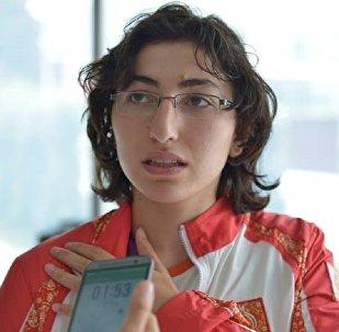 Cüdo üzrə paralimpiya yığmamızın üzvü Səbinə Abdullayeva