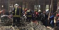Türkiyənin Samsun şəhərində məscid tikintisi zamanı çökmə baş verib