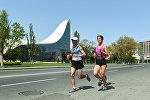 В Баку прошел марафон под лозунгом Победи ветер