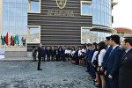 Президент Азербайджана Ильхам Алиев принял участие в открытии кампуса Бакинской высшей школы нефти SOCAR