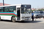 Старый автобус в Баку, фото из архива